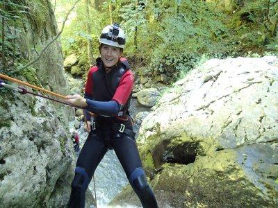 Canyoning in Asturias, children under 15 offer