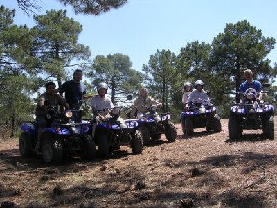 2-seater quad ride, Molina de Aragón, 2 hours