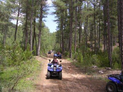 1-seater quad ride, Alto Tajo, Full Day