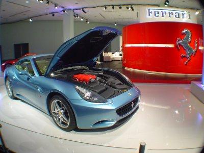 Drive a Ferrari California for 12 miles, San Cugat