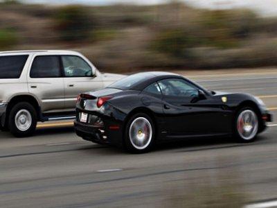 Drive a Ferrari on the road 50km in Barcelona