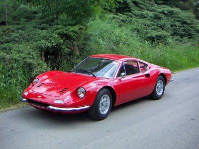 Ferrari 246 GT and F430 F1 ride Sant Cugat