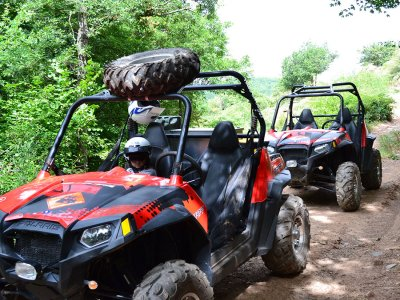2-hour buggy excursion, two-seaters