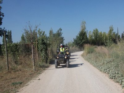 Route on a 2-Seater Quad Bike, Girona 1h