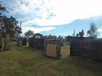 Pack paintball 100 balls + barbecue, Castellar