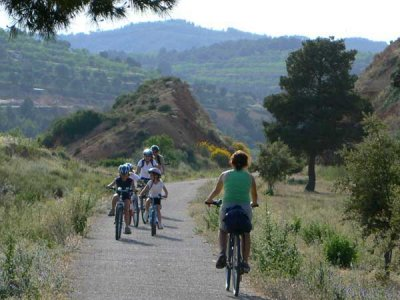 Vía Verde in Horta de Sant Joan to Xerta