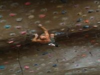 A variety of bouldering challenges