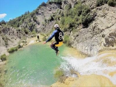 Medium level canyoning with photos Organyà 4h