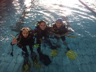 Scuba Diving Baptism, Madrid 2 hours