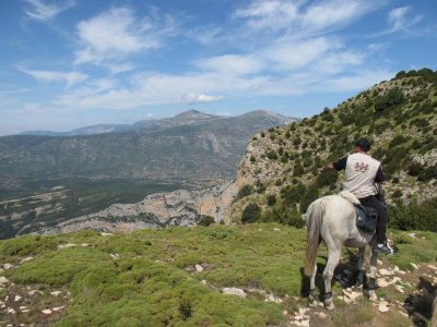 2h horse ride tour in Barbastro, Huesca