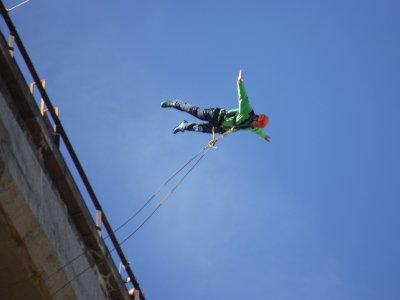 2 Bungee Jumps in Alfambra with photos Teruel