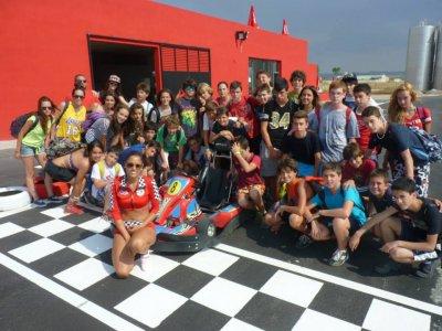 Multiadventure camping, Albacete, 8 days