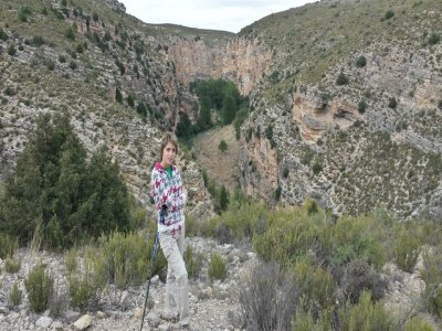 Trekking route Parque Geológico de Aliaga, 4 hours
