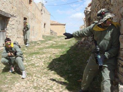 Laser Combat in Tres Cantos, Madrid - 90'