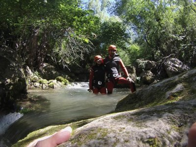 Theoretical-practical canyoning course level 2