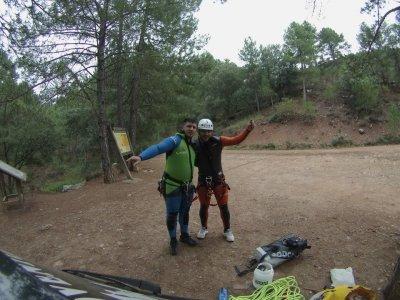 Auto-rescue course in ravines