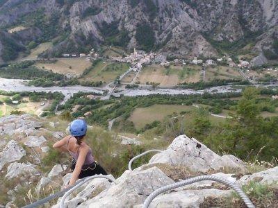 Via ferrata in Viveda mountains, 5-6 hours.