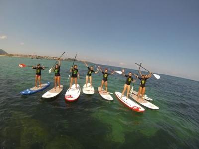 Urban aquatics camp, 5 days in Noja