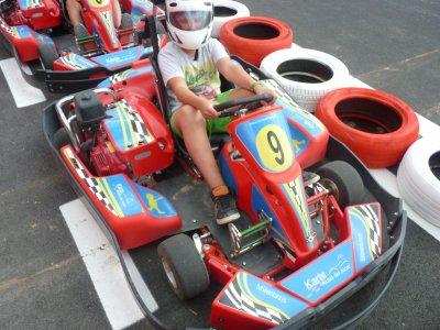 2x1 karting series in Alcalá del Júcar.