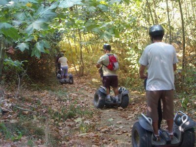Ride by segway through Parque Montnegre 2 hours