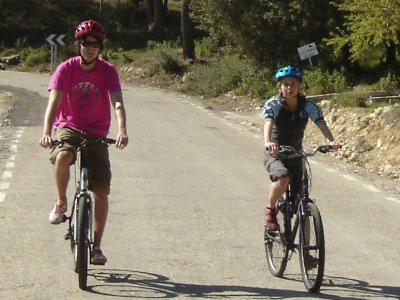 City bike rental half day in Benidorm