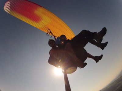 Paragliding in Guadalajara + video