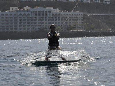 Wakeboarding in Mogán - 15 min