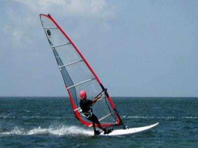 Crosby Lakeside Adventure Centre Windsurfing