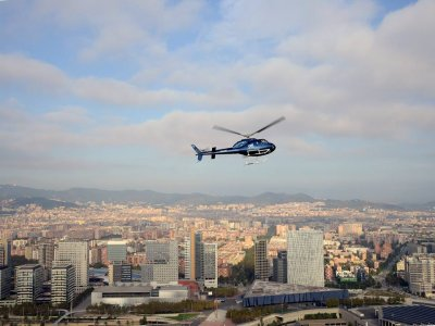 Helicopter in Barcelona - Father's Day Special