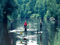 Stand up paddleboarding with views