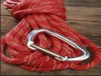 The climbing rope