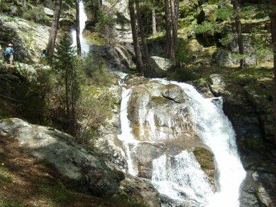 Hiking route, Cascada de La Chorranca, 22 March