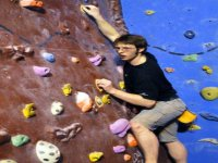 We host bouldering competitions