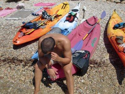 3h Kayak Trip in Cala d'Egos