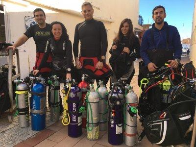 Scuba Diving Course Enriched Nitrox Oxygen, Madrid