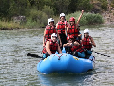 Rafting in Silla, price for children, 2 hours