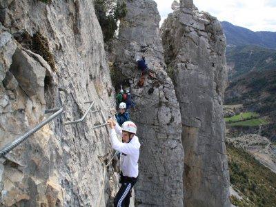 Foradada de Toscar Via Ferrata High-Medium Level