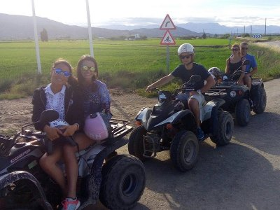 Quad and Kayak Routes at Ebro Delta
