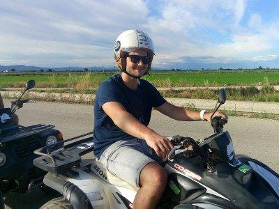 2h Single-Seater Quad Bike Trip in Ebro Delta