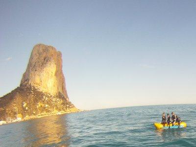 Banana boat ride in Calp, 20 minutes