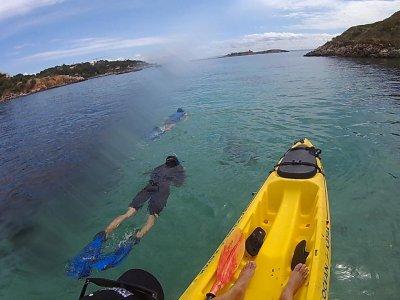 Kayaking and Snorkel in Illetas, 3 hours
