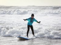 Family Surfing in Wales