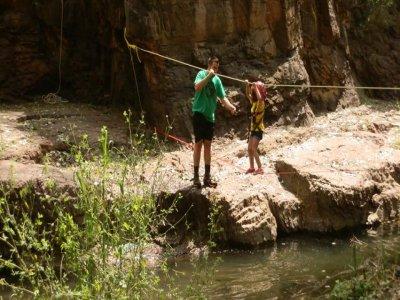 Multiadventure activities on Espadán mountains