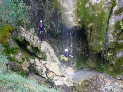 Water canyoning level 2 Sierra Espadán