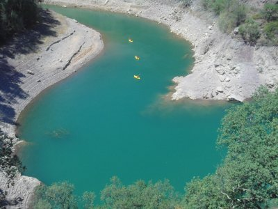 Kayak route, small bays of Castellon, level 3