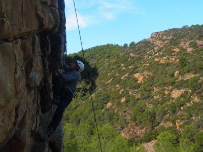 Climbing session level 2, Sierra de Espadan