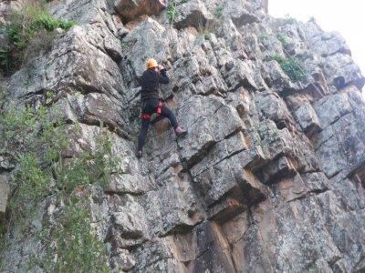 Advanced climbing session, Sierra de Espadán
