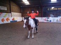 having fun with the pony