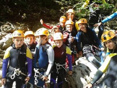 Canyoning Level 2 in the Pyrenees 2-4 hours