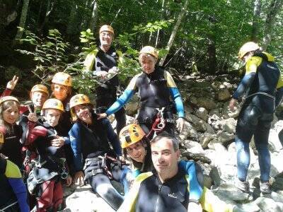 Initiation canyoning, special price for children
